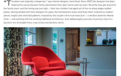 Janet Gust Featured on Houzz