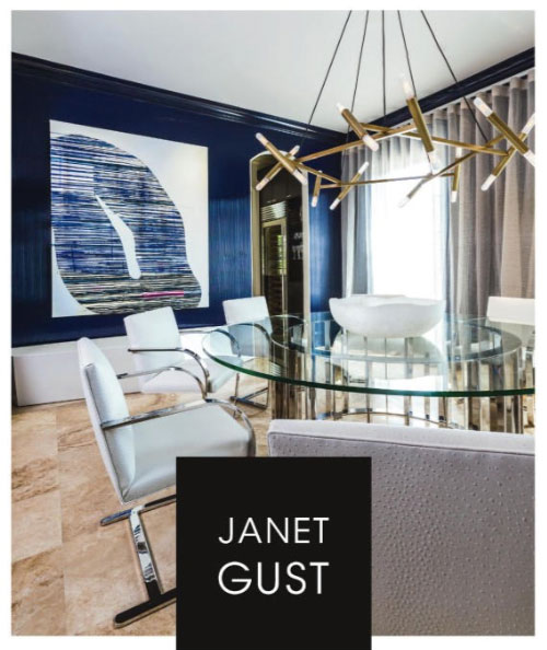 Janet Gust featured in Luxe